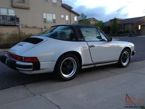 1986 Porsche 911 Targa