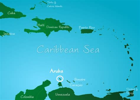 caribbean map aruba caribbean islands map aruba