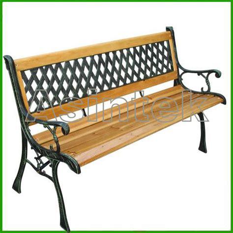 panchine in ghisa e legno asintek panchina da giardino in legno e ghisa lavorata
