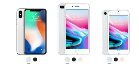 8 iphone x iphones compared how the iphone x stacks up against iphone 8 and 8 plus gizmodo australia