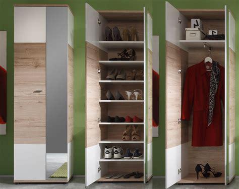 schuhschrank und garderobe garderobe cus eiche wei 223 g 252 nstig kaufen
