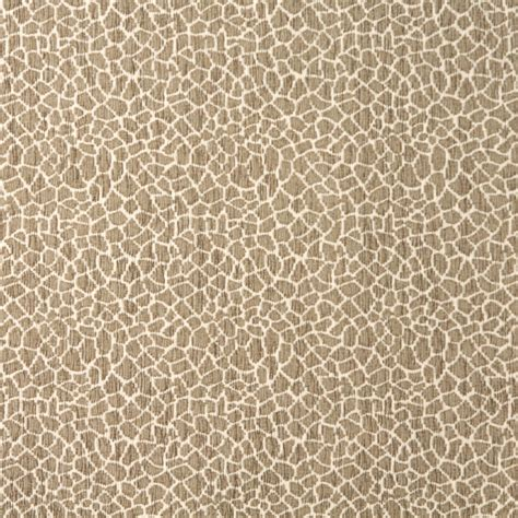 textured chenille upholstery fabric beige giraffe pattern textured woven chenille upholstery