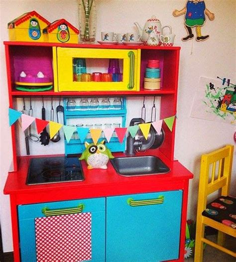 kids kitchen ideas mommo design ikea play kitchen makeovers ikea hacks