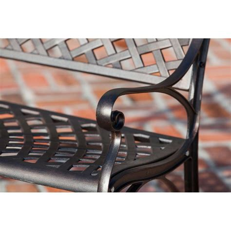bronze bench antique bronze cast aluminum patio bench