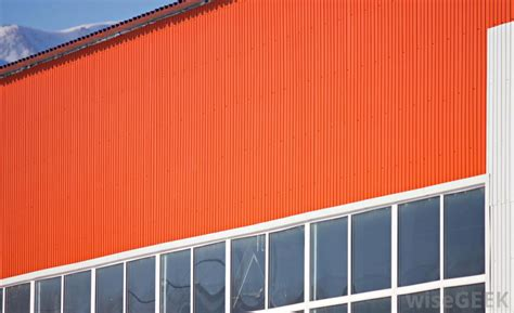 corrugated metal house siding corrugated metal siding rusted corrugated metal siding and roof on a building stock