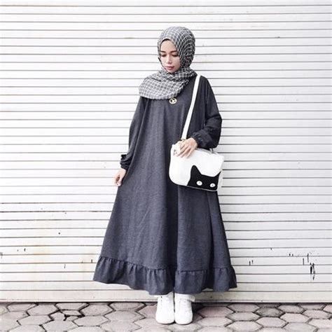 Gioni Dress Putih Simple Casual Bagus Murah gaya hangout untuk para remaja ala sonya humaira oleh biutifa kompasiana