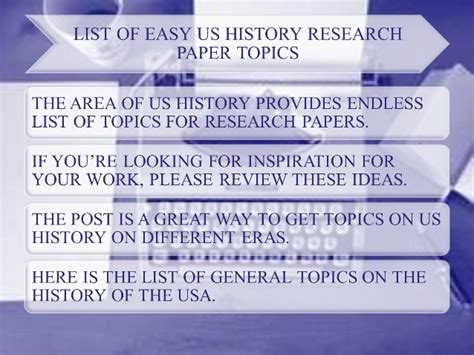 Research Paper Topics American History by Topics For Research Papers Us History Durdgereport886 Web Fc2