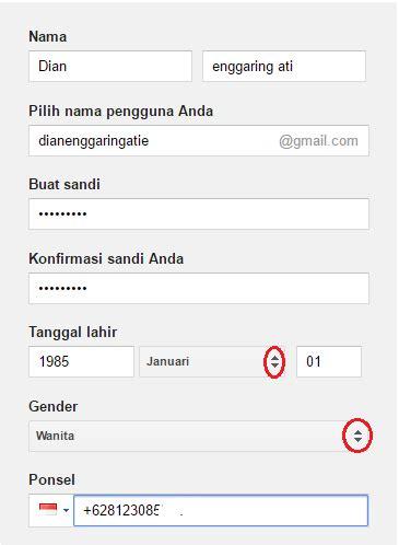 buat akun gmail menggunakan bahasa indonesia buat akun gmail daftar email gmail baru indonesia