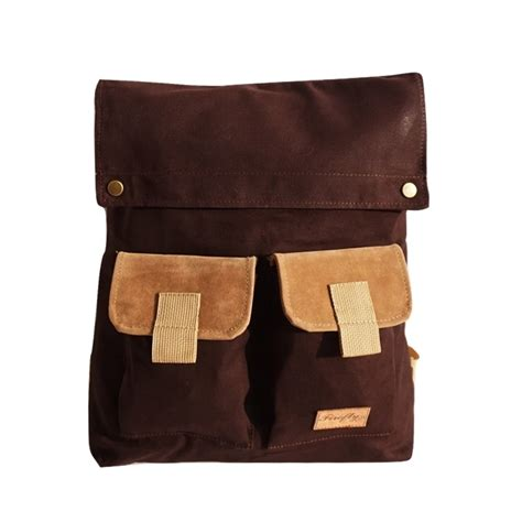 Tas Rv10101 Darkbrown tas ransel apollo brown mall indonesia