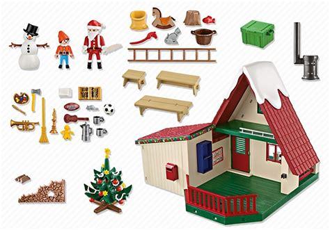 maison du pere noel playmobil playmobil 5976 la maison du p 232 re no 235 l au meilleur prix