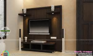 Tv Unit Design Ideas For Bedroom Tv Unit Furniture Dining And Bedroom Interiors Kerala