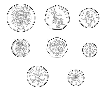 coloring pages uk coins coloring page coloring home