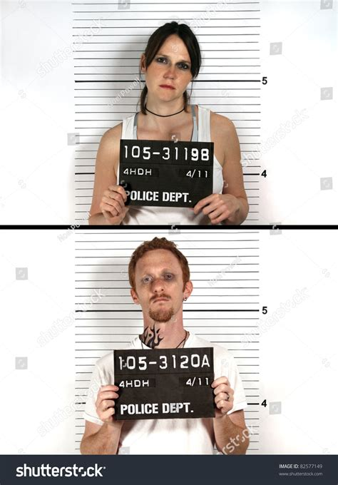 Can I Find Out If I A Criminal Record And Criminal Mug Stock Photo 82577149
