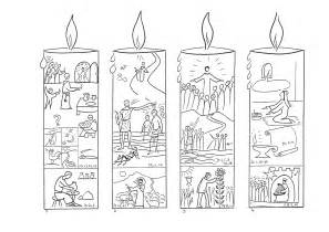 advent coloring pages candle advent epiphany st charbel church sydney australia