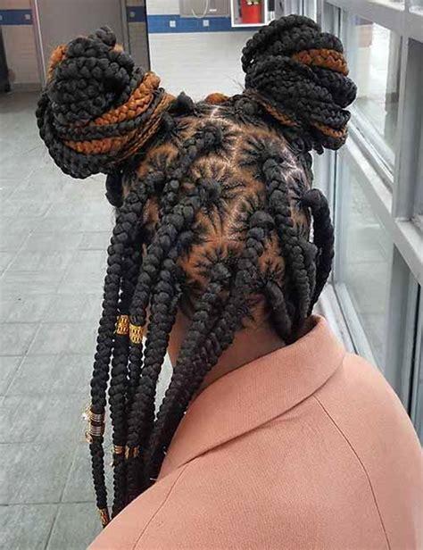 diy spider web jumbo box braids black hair 18 spider parted jumbo box braids frisuren und haare