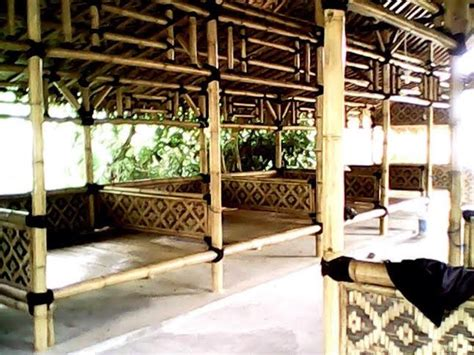 Kursi Warung Makan saung resto bambu www universalolshop