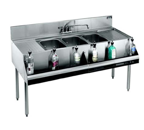 bar sink krowne kr18 73c royal 1800 series 84 quot three compartment
