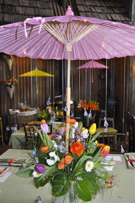 Patio Table Decor Best 25 Umbrella Centerpiece Ideas On Pinterest Outdoor Umbrellas