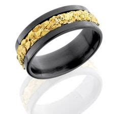 7 5mm genuine gold nugget ring wedding