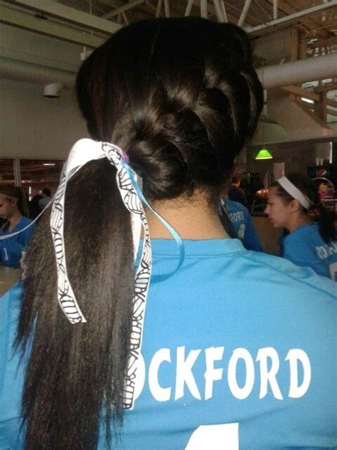 volleyball hairstyles curly hair cute hairstyles for volleyball anahi s pins pinterest