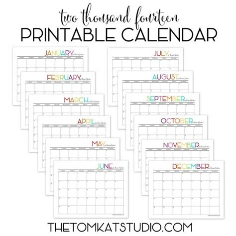 free monthly calendar template 2014 this is the calendar i will print use for our monthly