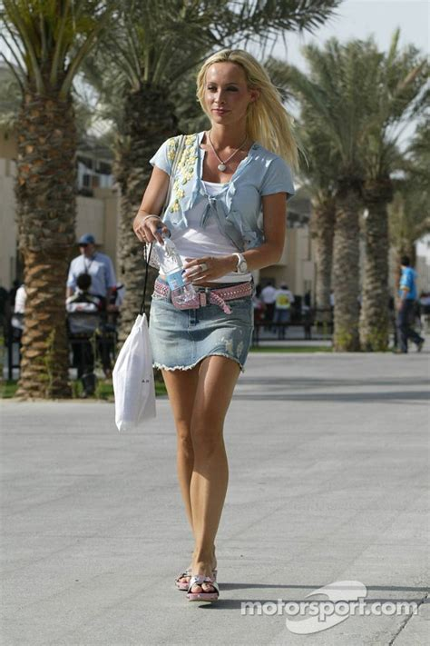 Cora Schumacher at Bahrain GP