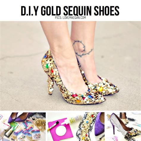 diy sequin shoes diy special 11 d i y shoe ideas tutorials