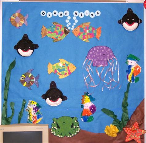 theme board exles awesome ocean theme ideas including songs and movement