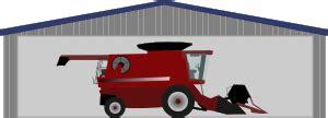 Harvester License Office by Clipart Combine Harvester In Shed