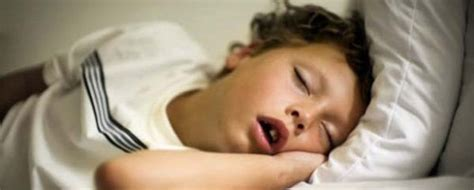 Does Your Kid Snore At what does it if your kid is snoring