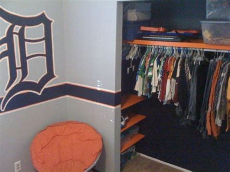 Detroit Tigers Bedroom Decor by 8 Best Detroit Tigers Baseball Room Images On