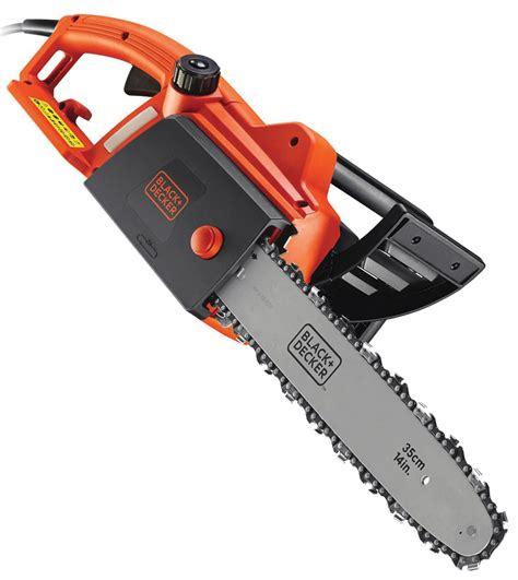 black decker uk black decker cs1835 240v chainsaw howe tools uk