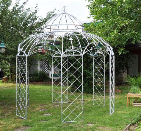 stabiler gartenpavillon gartenpavillon metall romantik zink 216 290cm