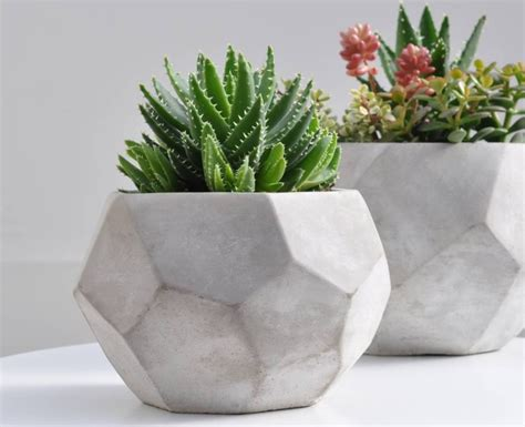 Ideas Design For Cement Planters Concept 22 Concrete Planters Built To Last Homecrux