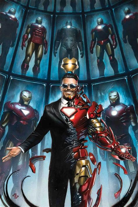 Iron Tony Stark marvel comics june 2018 solicitations spoilers tony