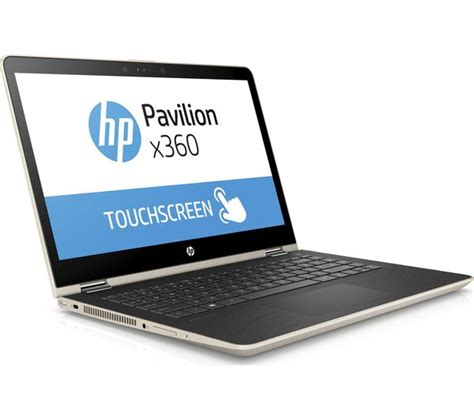 Hp Pavilion X360 Convertible 14 Ba004tx Gold buy hp pavilion x360 14 ba095sa 14 quot 2 in 1 gold free delivery currys