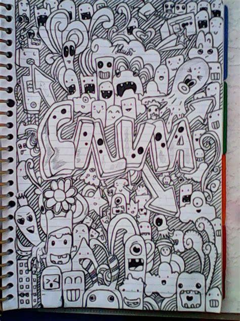 doodle keren simple menjadi pintar