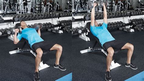 slight incline bench press pump up your pecs with this cable and dumbbell chest