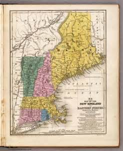 Blockers Ireland Map Of The New Or Eastern States Mitchell Samuel Augustus 1839