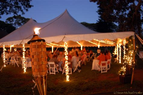 outdoor wedding lighting help the knot