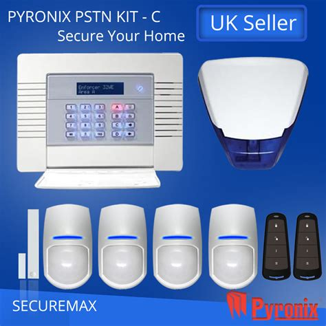 pyronix enforcer wireless home alarm systems pstn kit c