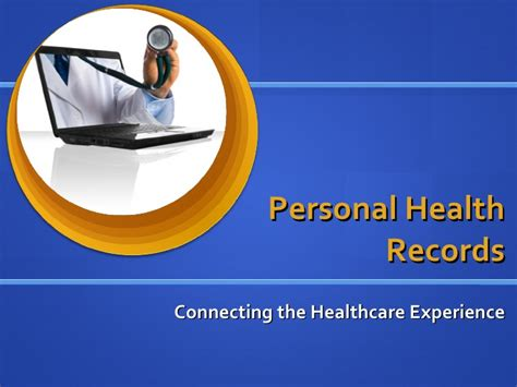 How To Check Your Personal Record Personal Health Records An Overview