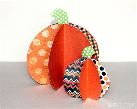 Construction Paper Pumpkin Crafts - construction paper pumpkin craft my stuff