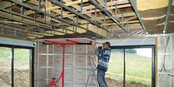 faire un plafond en placo