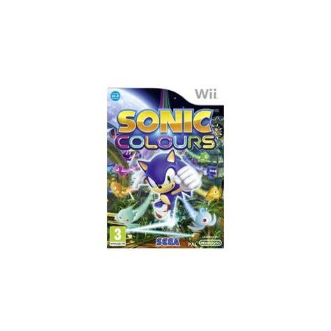 sonic colors wii sonic colours gioco nintendo wii in vendita offerta