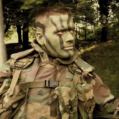 army man pattern camouflage face paints