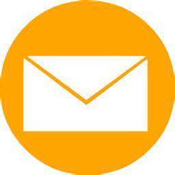 email orang orange email 14 icon free orange email icons
