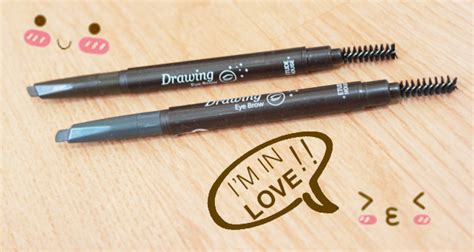 Top Etude Proof10 Auto Pencil New etude house drawing eye brow ad review swatch