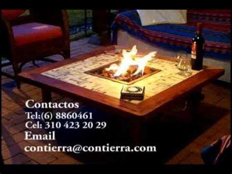 chiminea youtube mesa chimenea youtube