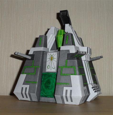 Papercraft 40k - necron monolith papercraft by vrock8 on deviantart